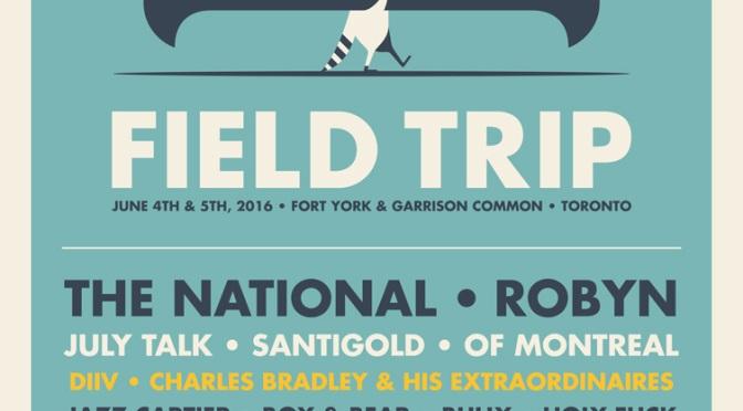 Field Trip Announces 2016 Lineup!