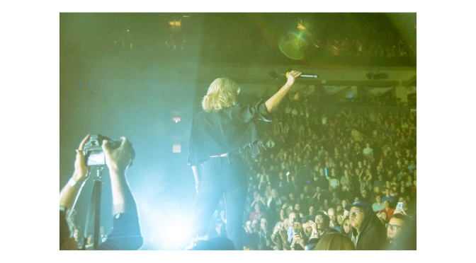 [Front row at] Metric + July Talk @ Scotiabank Area